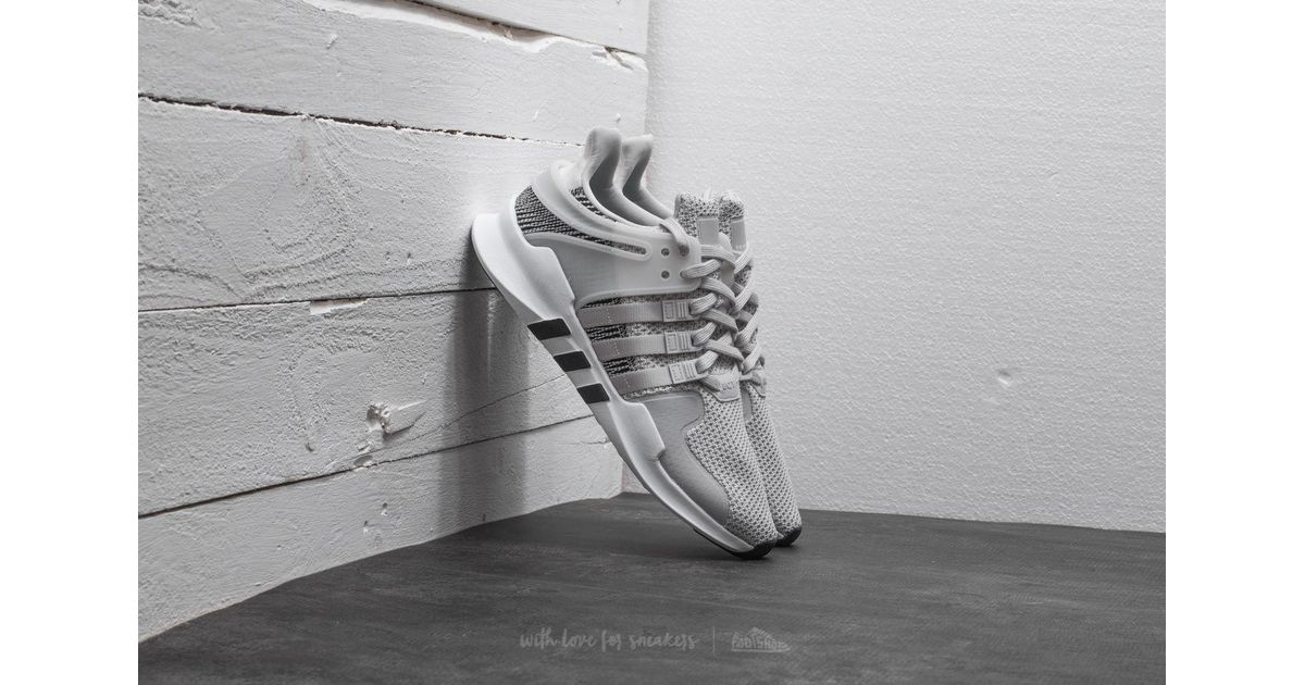 new product dd1a1 ff169 Adidas Originals Gray Adidas Eqt Support Adv Ftw White/ Ftw White/ Grey One  for men