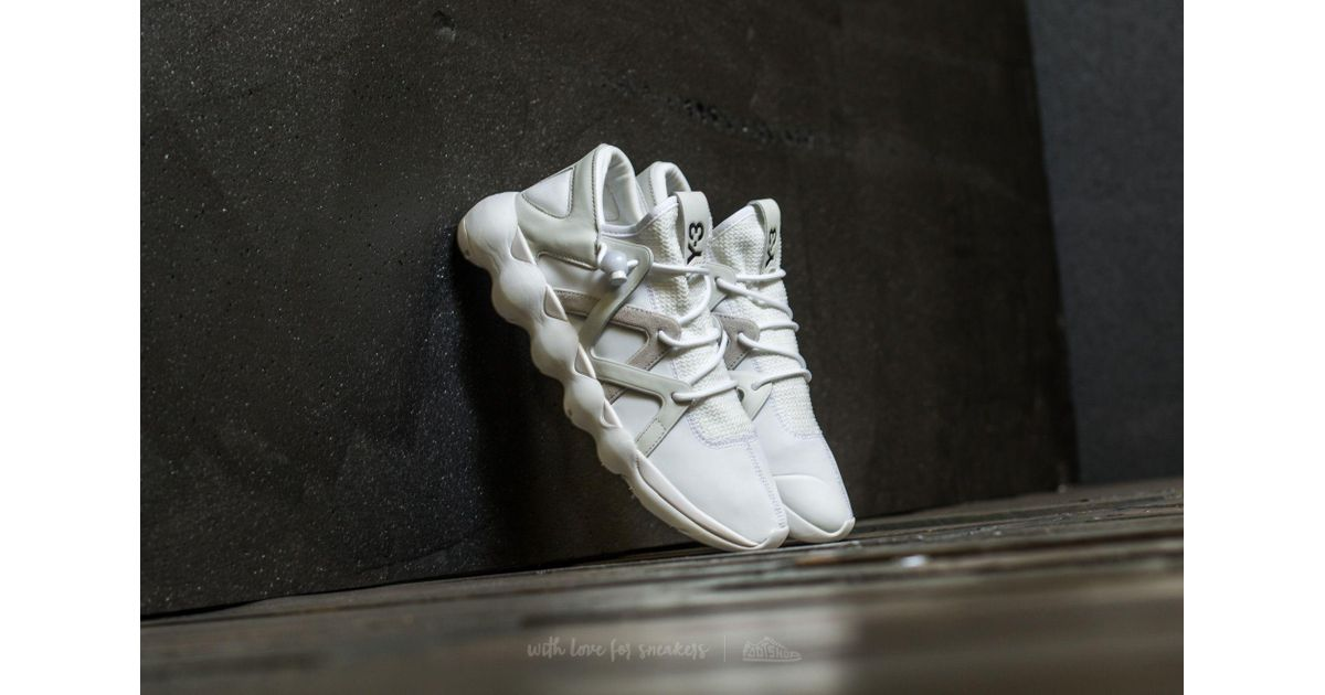 b302787abb663 Lyst - Y-3 Kyujo Low Ftw White  Crystal White  Crystal White in White for  Men