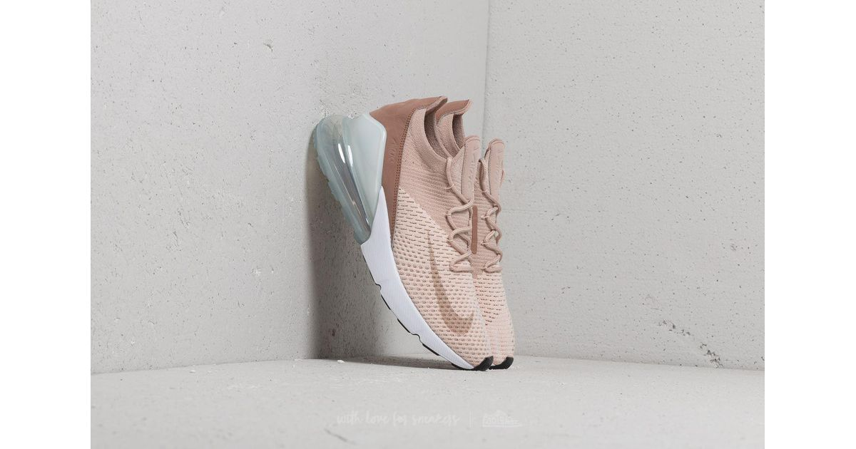 Nike Multicolor Wmns Air Max 270 Flyknit Guava Ice Particle Beige
