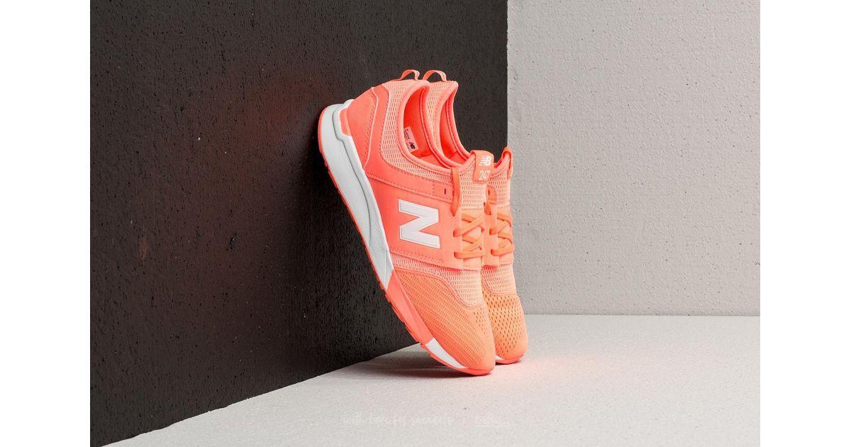 new balance 247 orange
