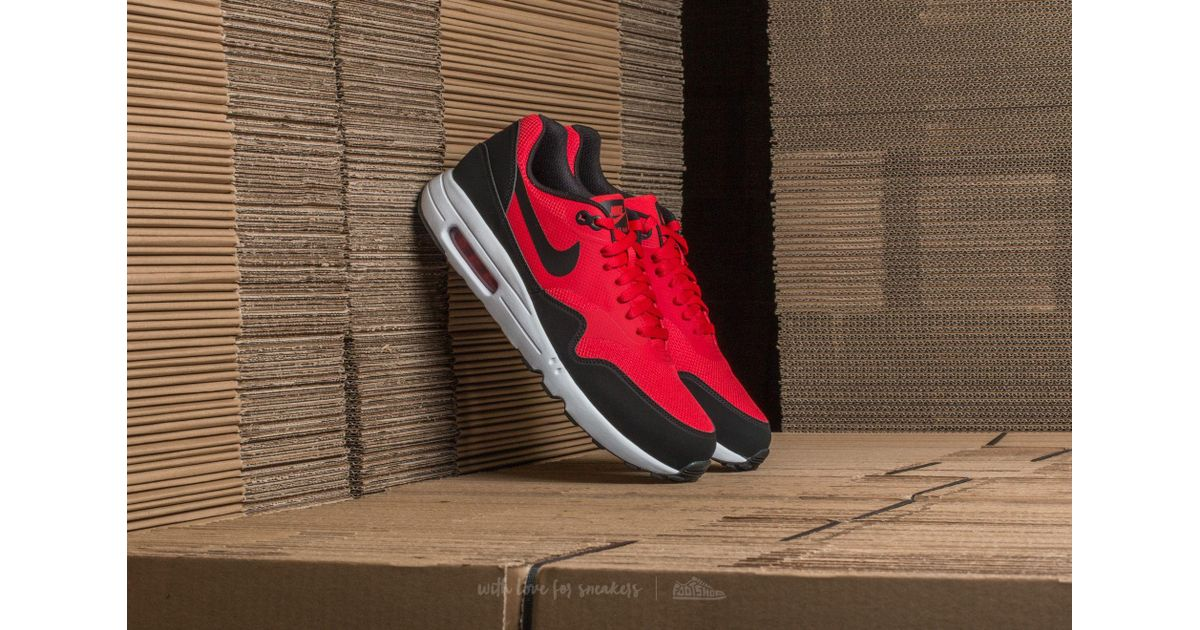 release date: d97d9 a80a1 Nike Air Max 1 Ultra 2.0 Essential University Red  Black-white in Red for  Men - Lyst