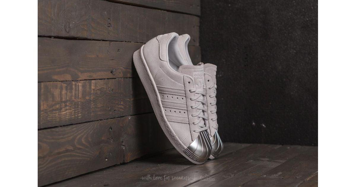 Adidas Originals Superstar 80s Metal Toe W Grey One Shoes