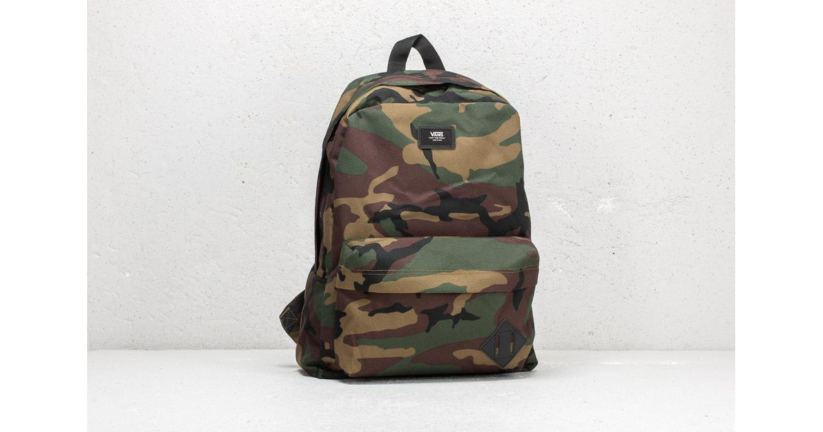 Lyst - Vans Old School Ii Backpack Classic Camo  Black for Men a2329ced1300a