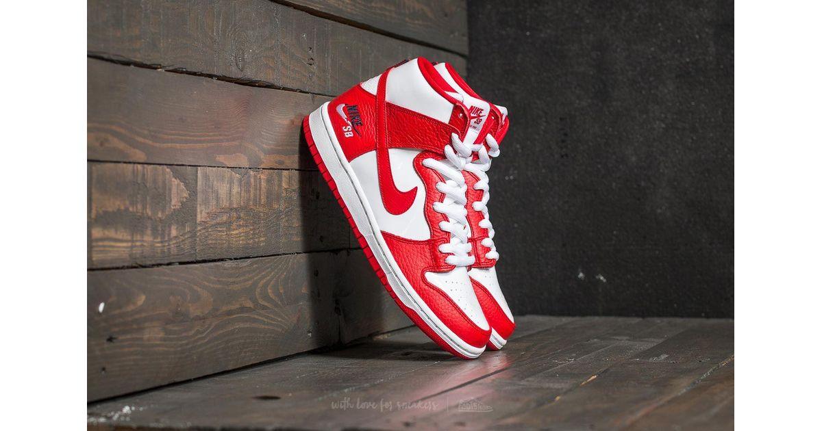 Nike Leather Sb Zoom Dunk High Pro