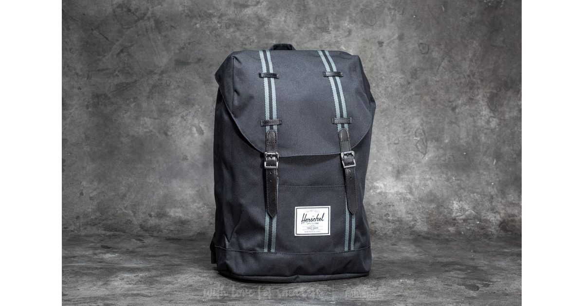 sprzedaż hurtowa Hurt wielka wyprzedaż uk Herschel Supply Co. Retreat Backpack Black/ Dark Shadow for men