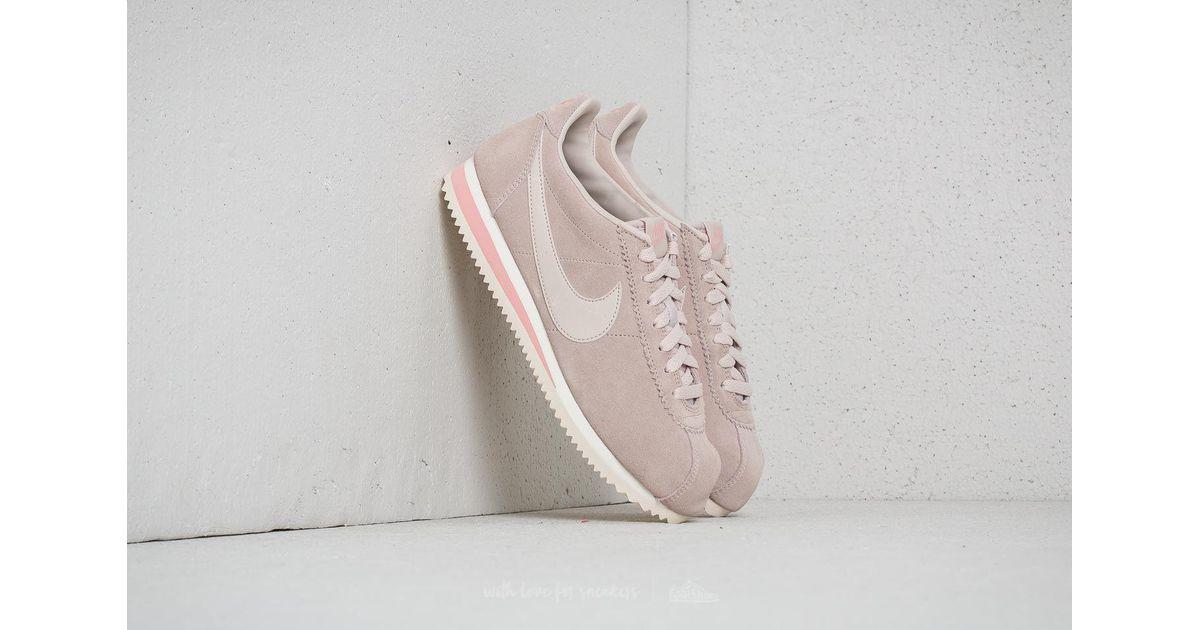 sale retailer 081f0 acc9e Nike Natural Classic Cortez Suede Wmns Desert Sand/ Desert Sand