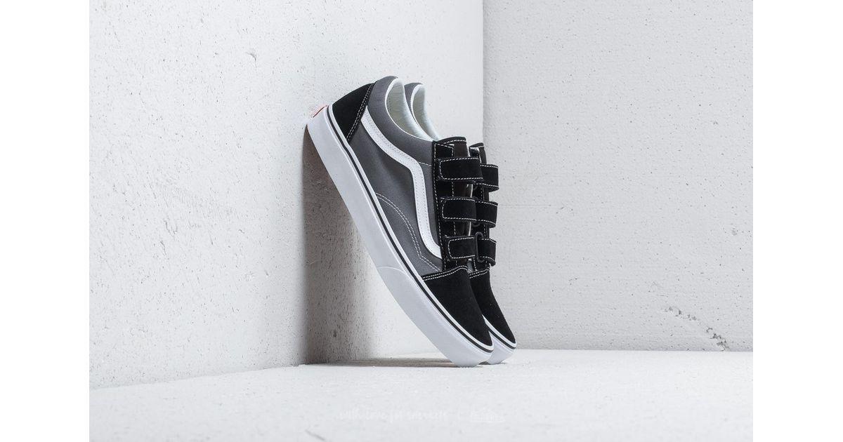 10ee2f1ca7 Lyst - Vans Old Skool V Pewter  Black in Black for Men