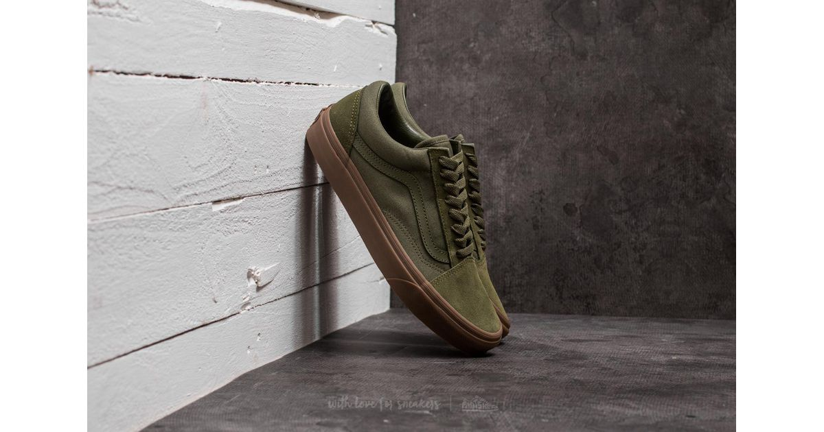 e7eb34c55044 Lyst - Vans Old Skool (suede  Canvas) Winter Moss  Green in Green for Men