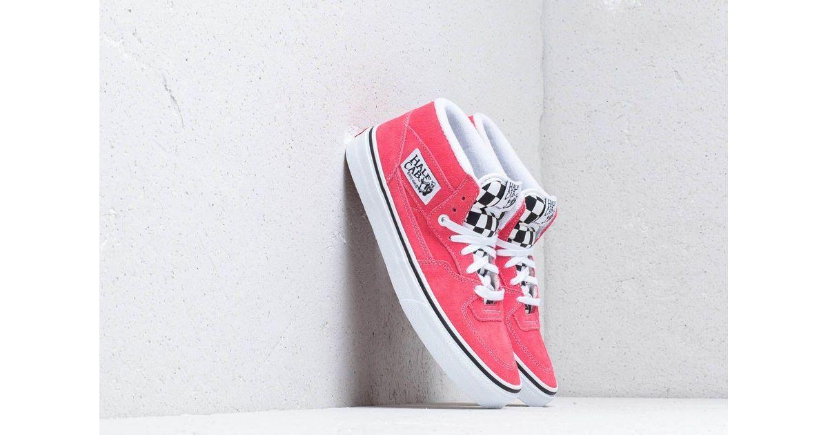 Vans Half Cab (suede) Strawberry Pink