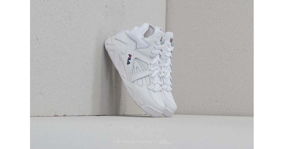 Fila Rubber Cage Mid Wmn White - Lyst