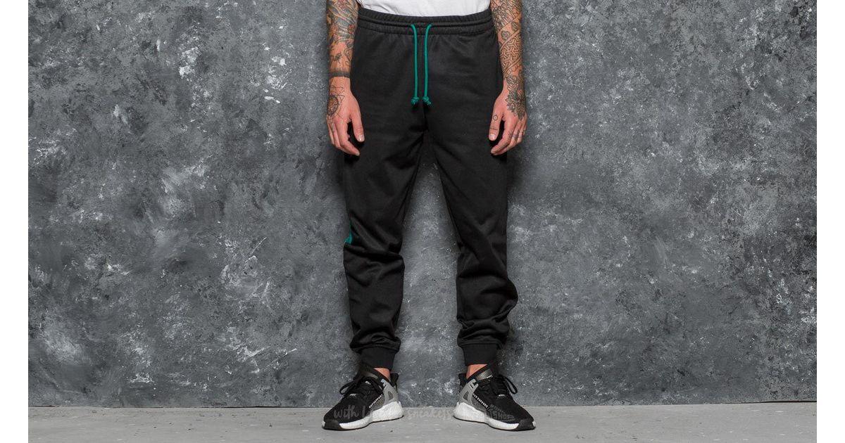 Block Track Pants Black for Men - Lyst