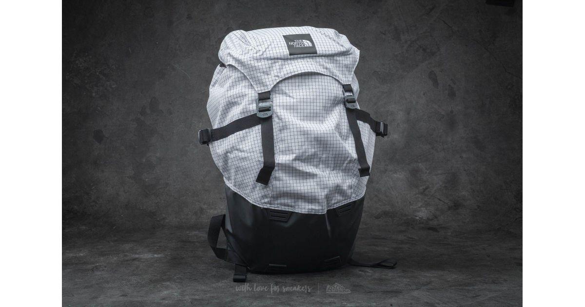 76e87d219 Footshop The North Face Homestead Roadtripper Backpack Tnf White  Transparent/ Tnf Black for men