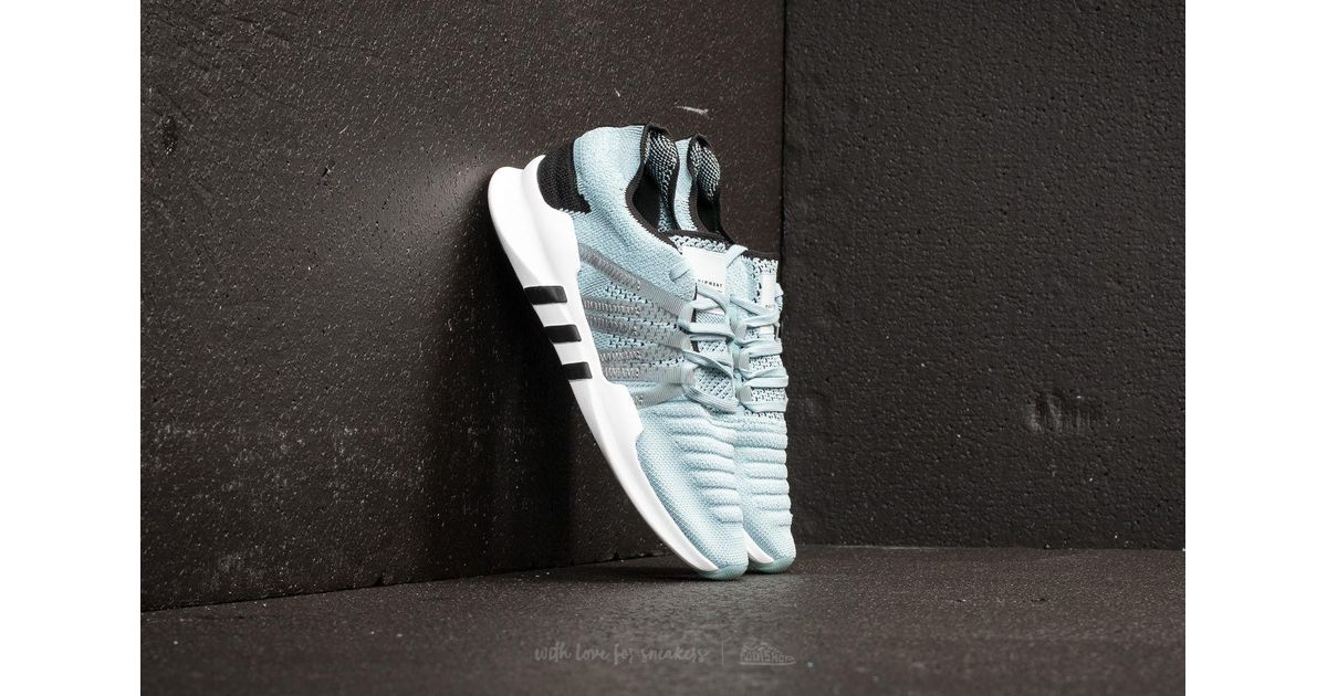 check out d33c1 3fcfe Lyst - adidas Originals Adidas Eqt Racing Adv Primeknit W Blue Tint Grey  Three Core Black