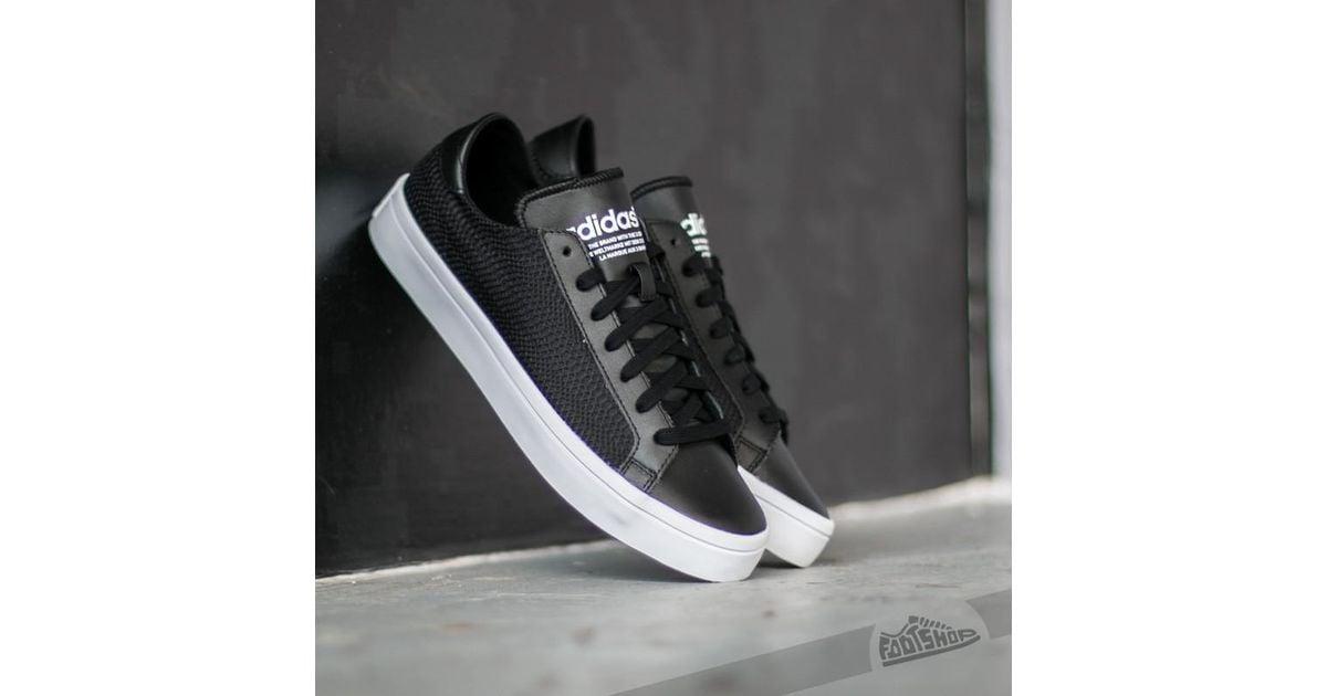 c92aadbb2d0e Lyst - adidas Originals Adidas Court Vantage W Core Black   Core Black Ftw  White in Black for Men