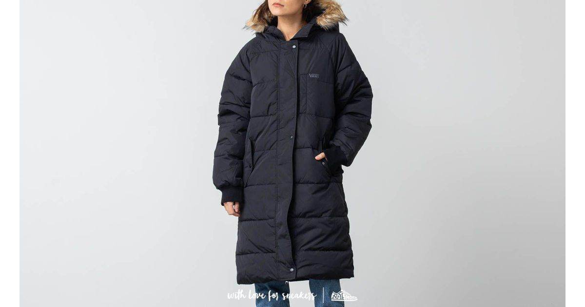 14a2f0296be Lyst - Vans Pullman Puffer Mte Jacket Black in Black - Save 35%