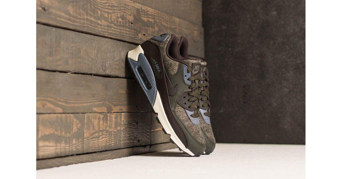 Nike Air Max 90 Premium Sequoia Velvet Brown for men