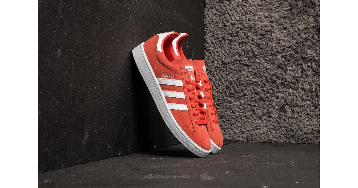 Details about NEW adidas $120 Men's Campus Shoes Trace Scarlet DB0984
