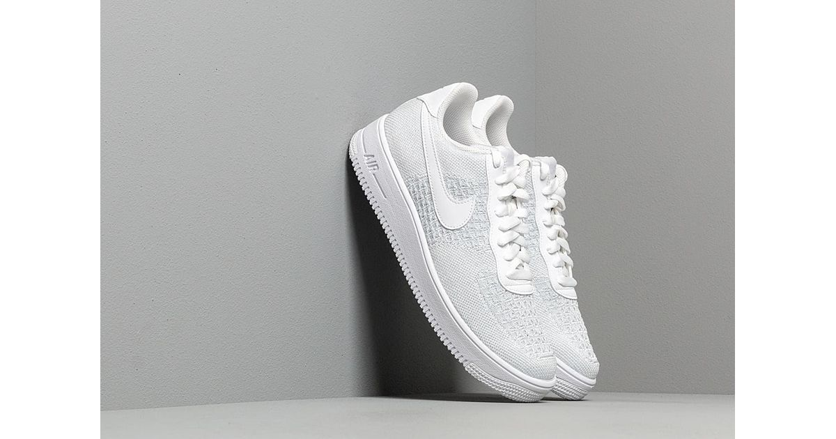 air force 1 flyknit 2.0 white