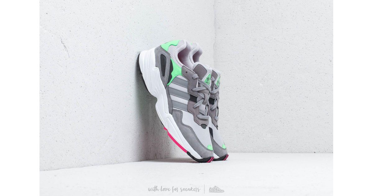 outlet store db9a1 20c16 adidas Originals Adidas Yung-96 Grey Two  Grey Three  Shock Pink in Gray  for Men - Lyst