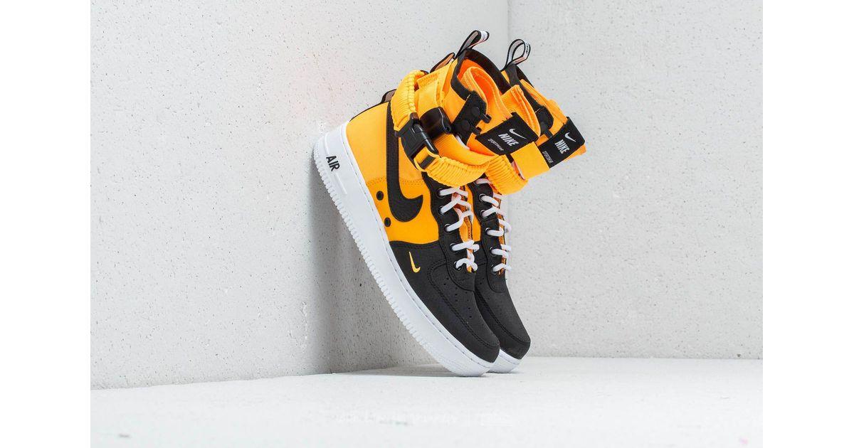 Nike Rubber Sf Air Force 1 Laser Orange