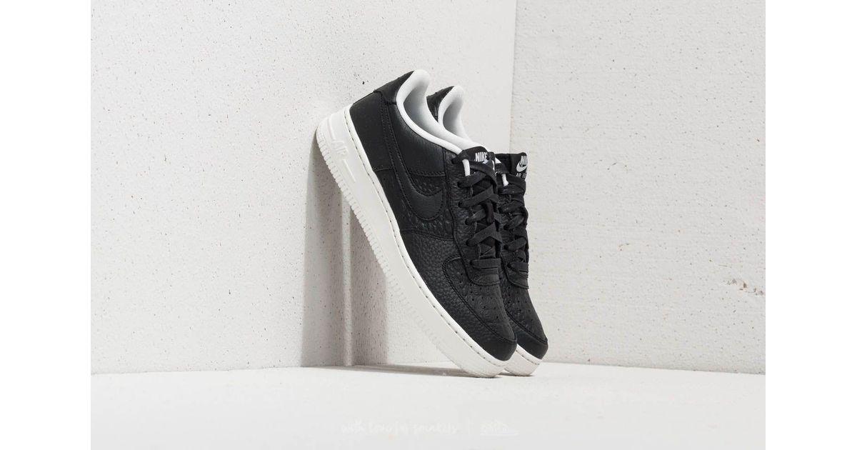 Nike Air Force 1 Suede (gs) Black Black sail