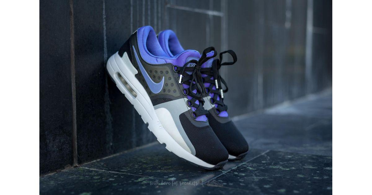 ecbadb069f Nike Air Max Zero Qs Black/ Persian Violet-white for Men - Lyst