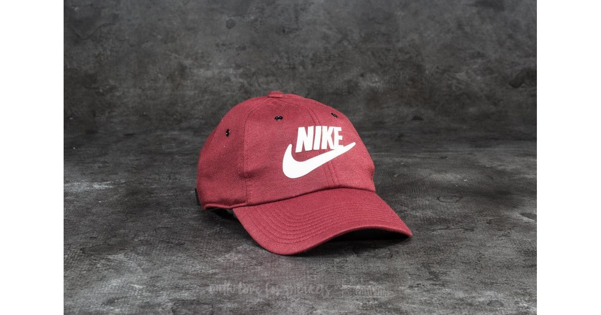 Lyst - Nike Sportswear W Heritage86 Cap Burgundy for Men 5c2155cf4de