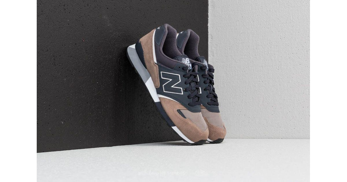 New Balance Multicolor 446 Navy/ Brown for men