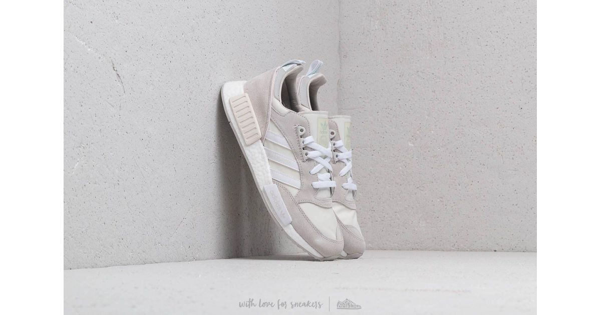 huge discount 8a8a3 c5373 Adidas Originals Adidas Boston Super X R1 Cloud White/ Ftw White/ Grey One  for men