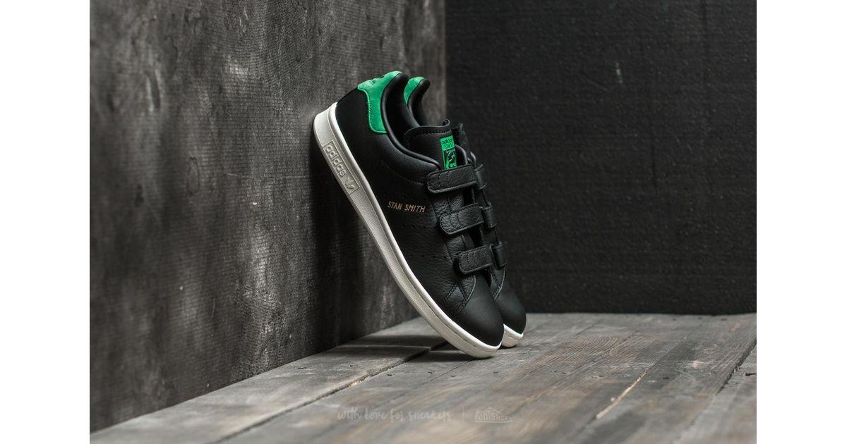 pretty nice e07f7 a594b Adidas Originals Adidas Stan Smith Cf Core Black/ Core Black/ Green for men