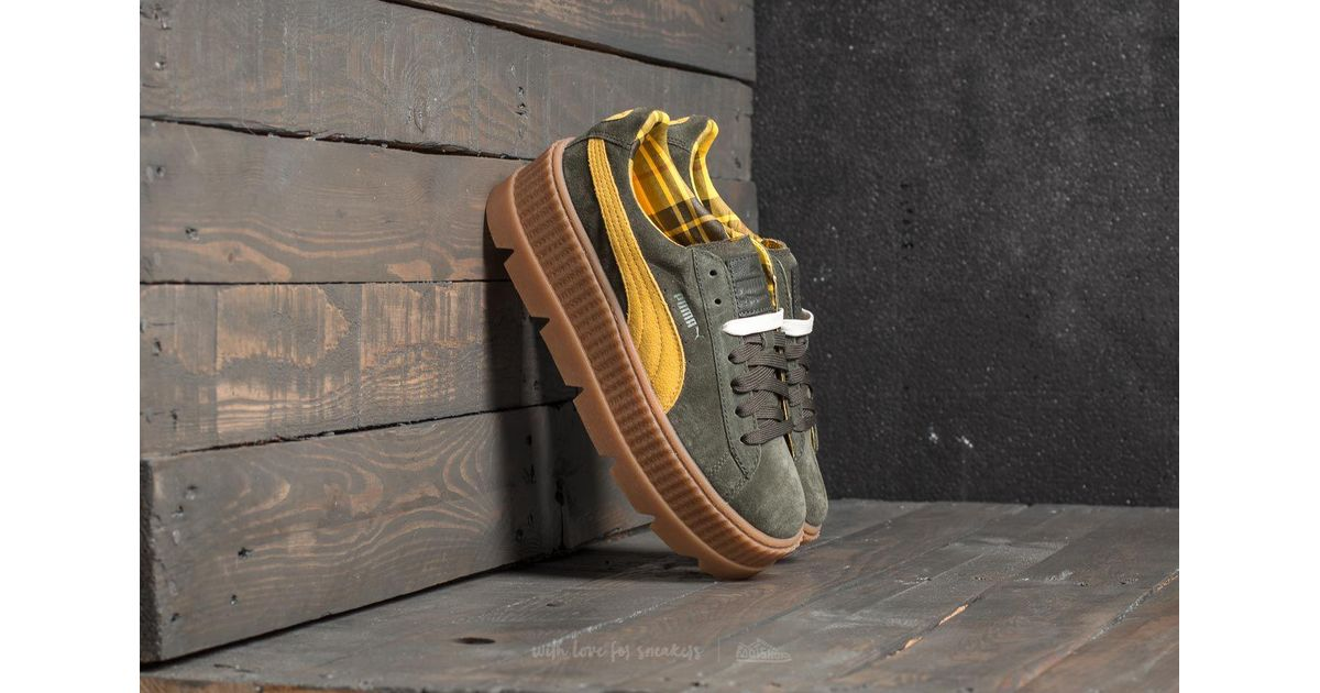puma fenty cleated creeper suede