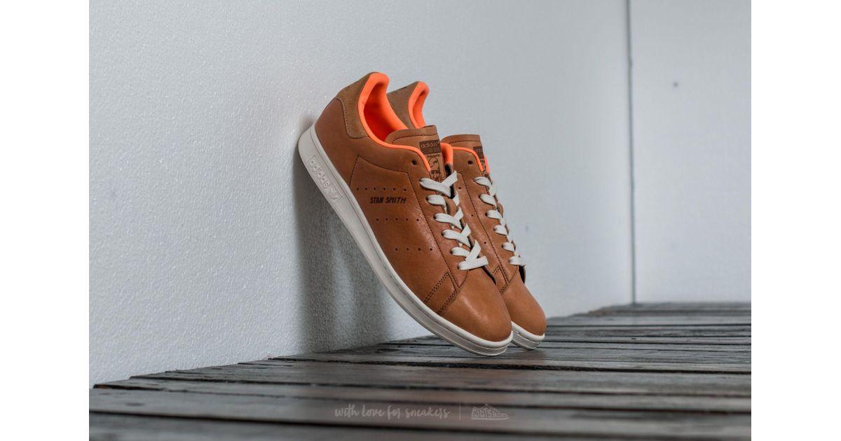 newest 72d3b 42b63 Lyst - adidas Originals Adidas Stan Smith Camel  Glow Orange for Men