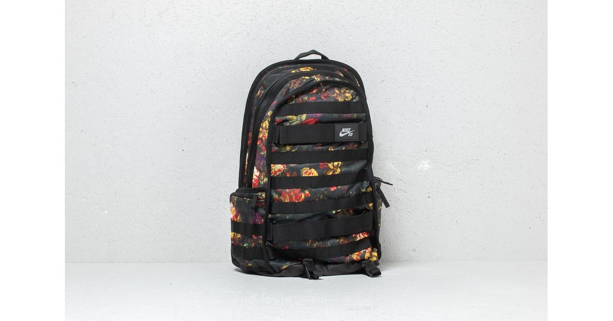 vast selection really cheap lower price with Nike Sb Rpm Graphic Backpack Floral/ Black/ Black