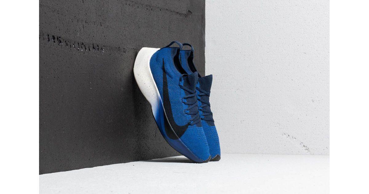 the latest b43fd d5371 Nike Blue Vapor Street Flyknit Deep Royal/ Black-college Navy for men