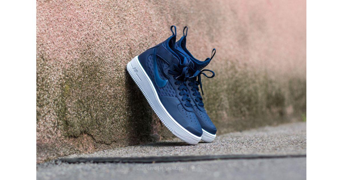 Nike Air Force 1 Ultraforce Mid Binary Blue Binary Blue white for men