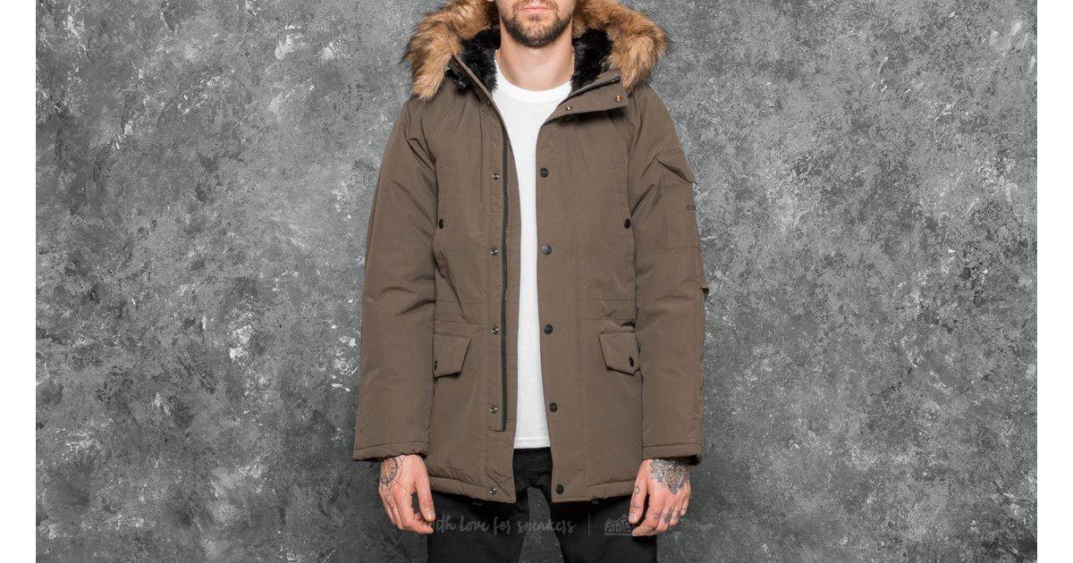 cheaper top fashion huge sale Carhartt WIP Multicolor Anchorage Parka Cypress/ Black for men