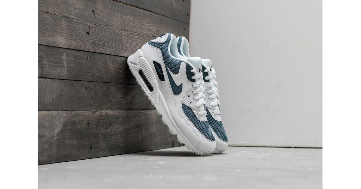 new product aafcf cc191 Nike Air Max 90 Essential White/ Armory Blue-armory Blue for men