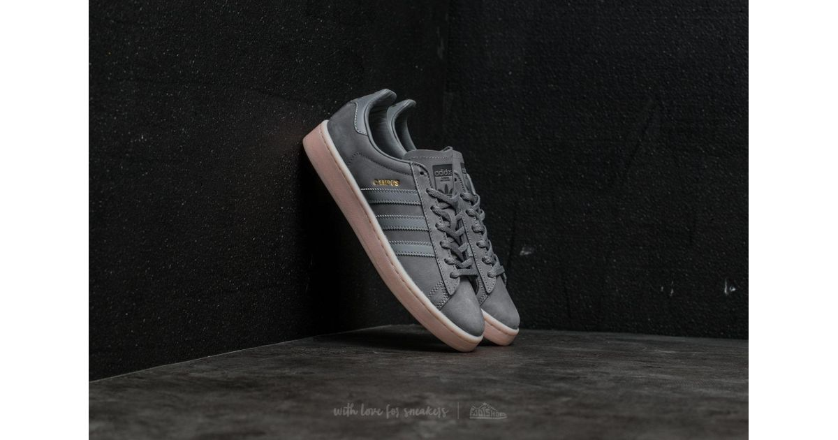 Adidas Originals Gray Adidas Campus W Grey Three Grey Three Icey Pink for men
