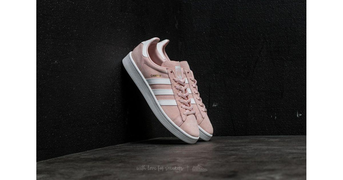 Adidas Originals Adidas Campus W Icey Pink Ftw White Crystal White