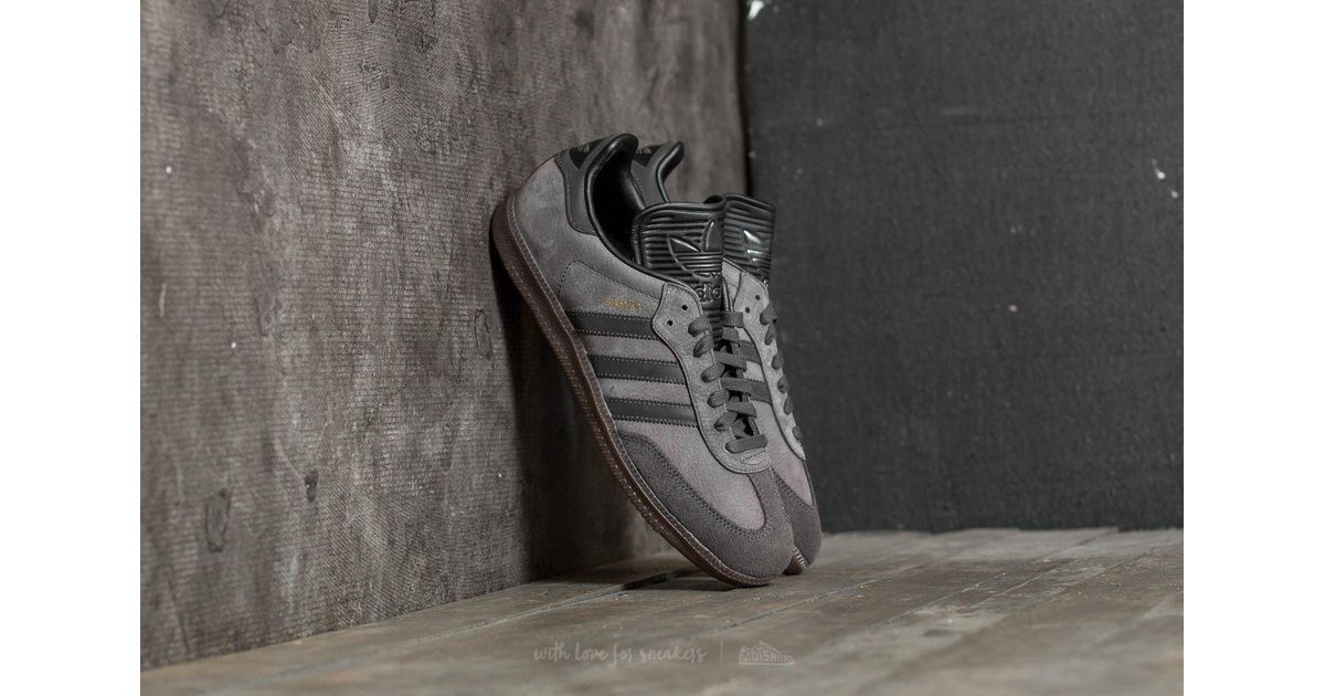 f05bc5d66b9a czech lyst adidas originals adidas samba classic og utility black  reflective core black in black for