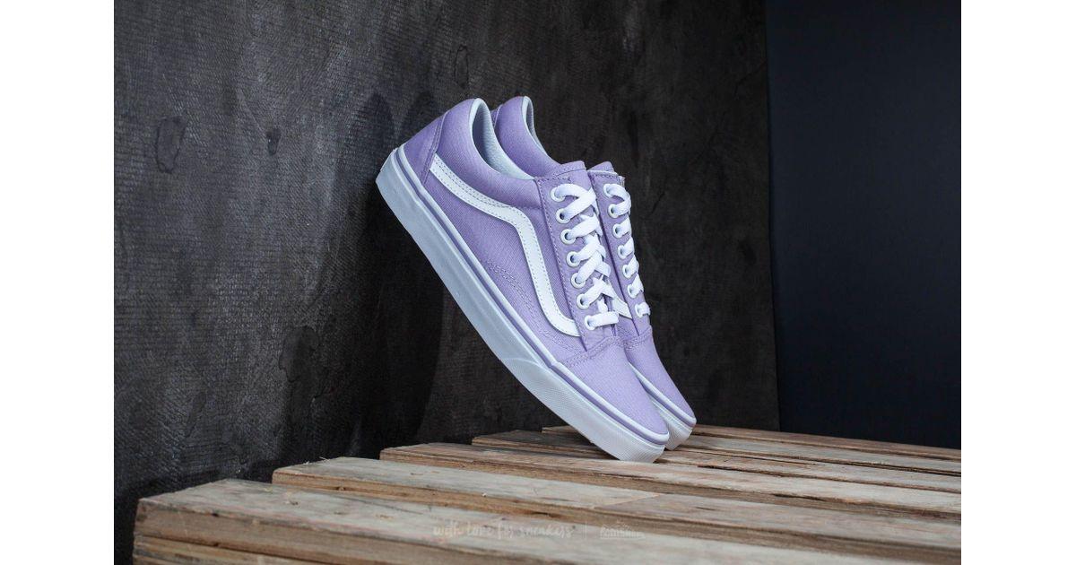 lavender vans old skool