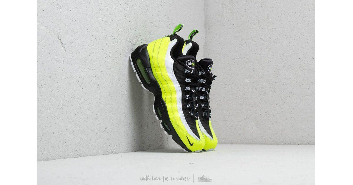 Woman Nike Air Max 95 Premium Tape Shoes Green Volt,nike air
