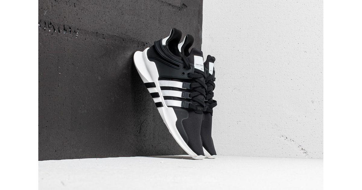 0eb810bb7 Lyst - adidas Originals Adidas Eqt Support Adv Core Black  Cloud White  Core  Black in Black for Men