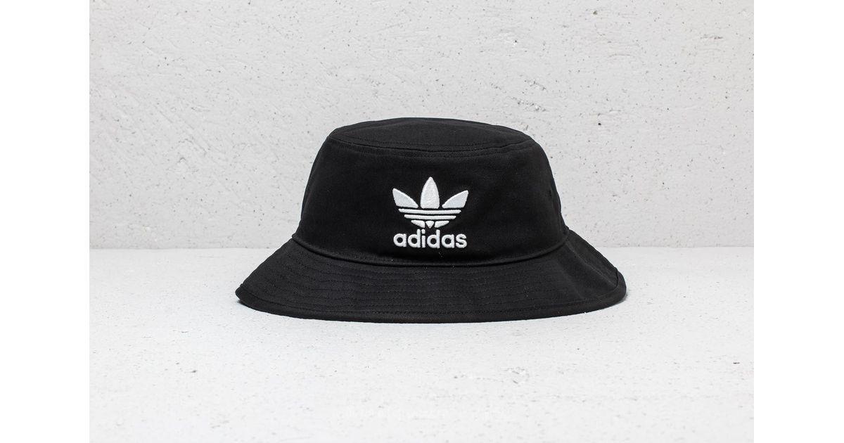 Lyst - Adidas Originals Adidas Bucket Hat Adicolor Black in Black for Men 827d0e61fb84