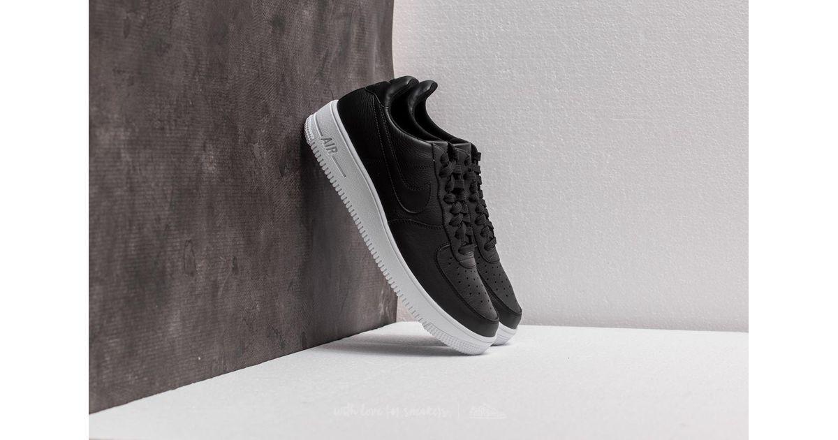 Lyst - Nike Air Force 1 Ultraforce Leather Black  Black-white in Black for  Men a3e91c185