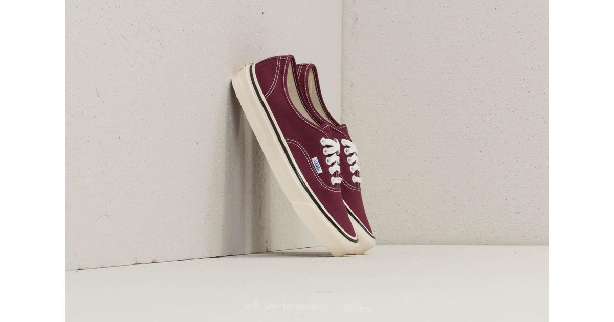 Hot Selling Vans Authentic 44 DX Anaheim Factory Burgundy