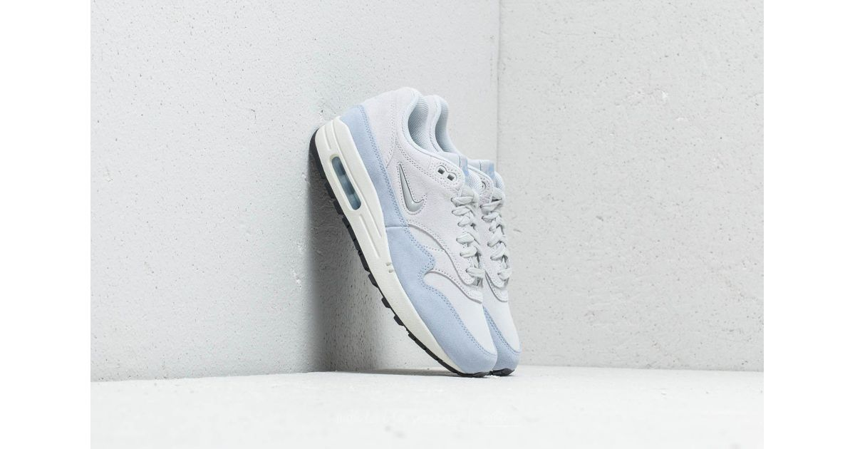 the best attitude feadd bc35b Nike W Air Max 1 Premium Sc Pure Platinum  Metallic Platinum - Lyst