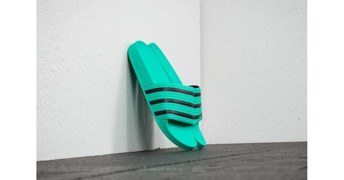 3c614437f964da Lyst - adidas Originals Adilette Slides in Green for Men - Save 27%