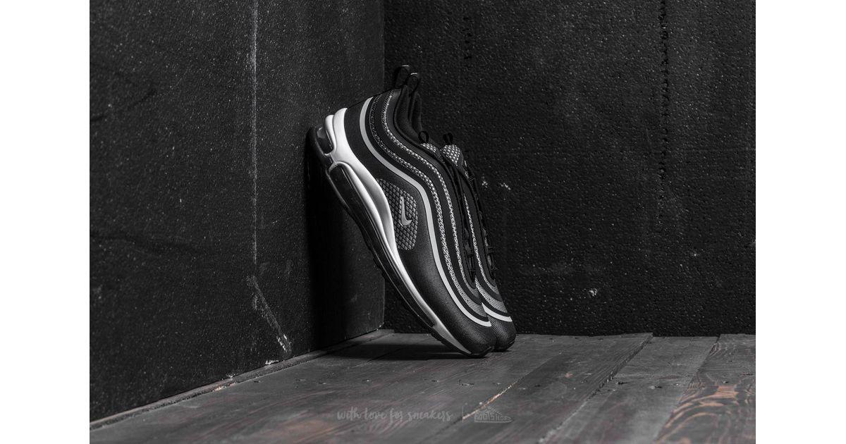 Nike Air Max 97 UL 17 GS Black Pure Platinum Running Shoe Sz