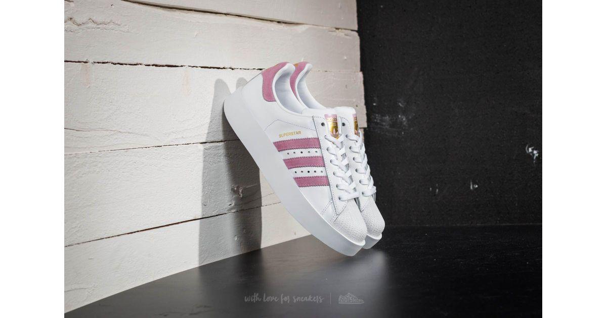 Køb Superstar Bold W Footwear WhiteWonder Pink Gold